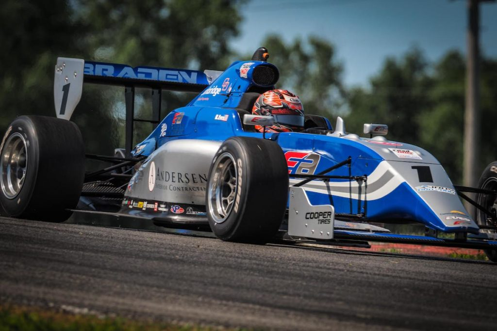 Eves se anota primer triunfo en Indy Pro 2000 (FOTO: Road to Indy)