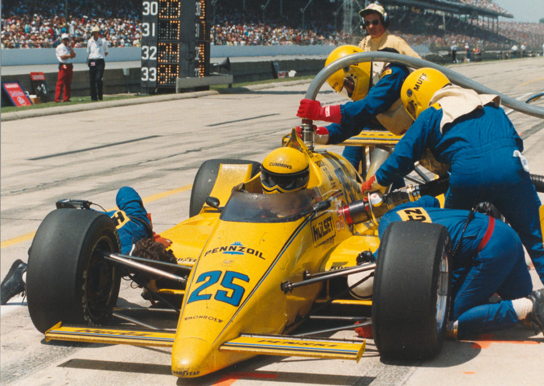 Unser 1987 (FOTO: Indianapolis Motor Speedway)