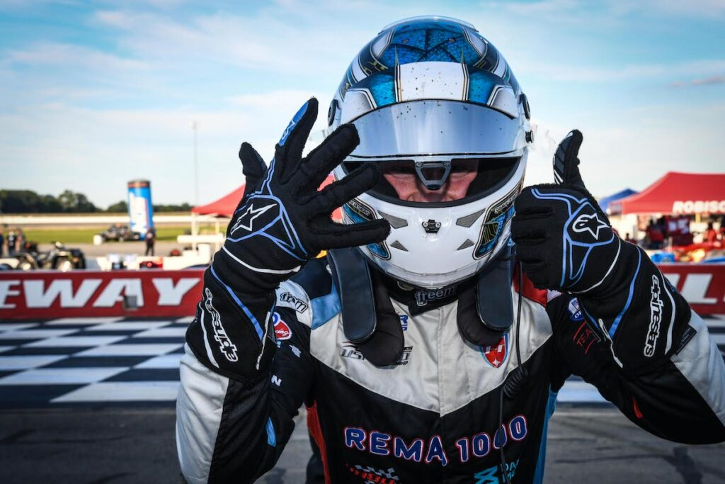 Rasmussen, imparable en USF2000 (FOTO: Road to Indy)