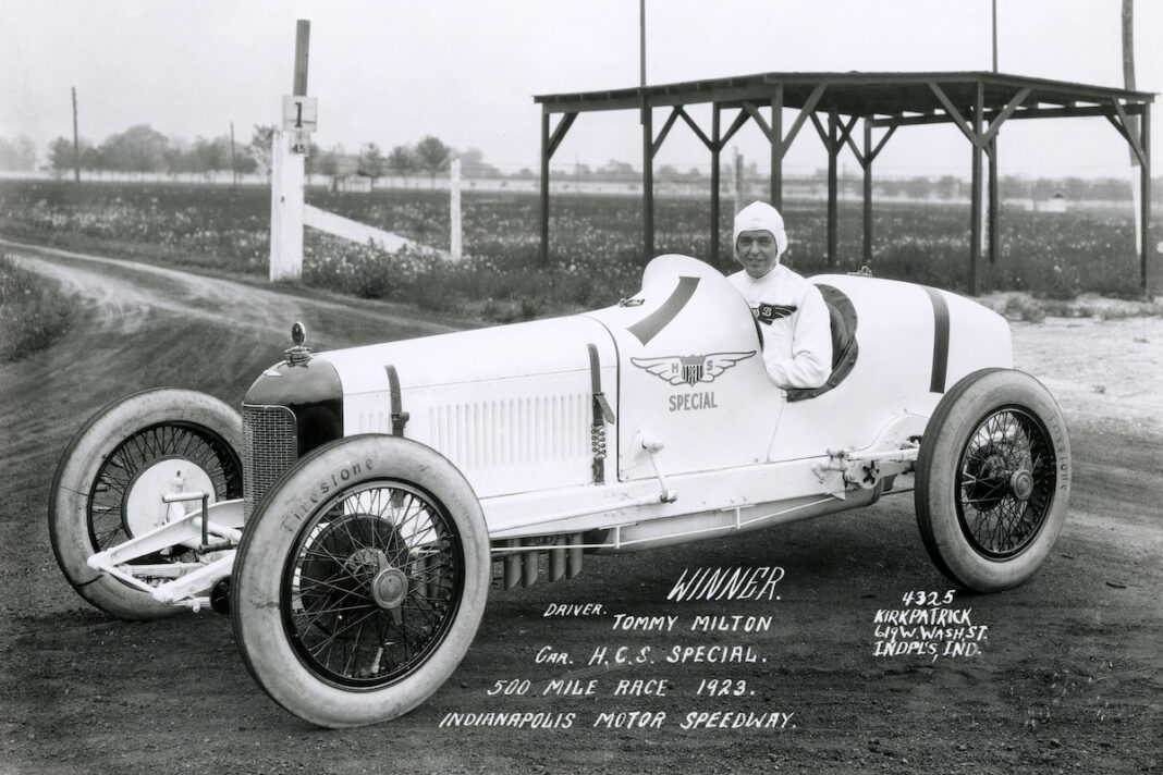 Tommy Milton (FOTO: Indianapolis Motor Speedway)