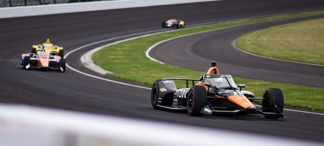 Pruebas en IMS (FOTO: James Black/INDYCAR)